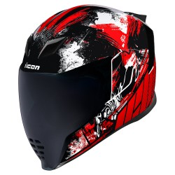 Icon Airflite Stim Helmet (RED)
