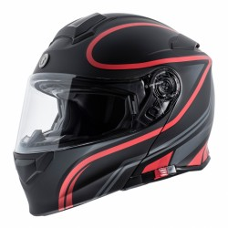 Torc T-28 Vapor Red Helmet (Bluetooth)