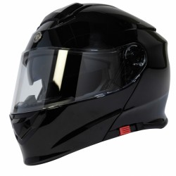 Torc Gloss Black Flip Helmet (Bluetooth)