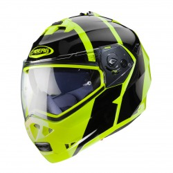 Caberg Duke II Impact Helmet (Black / Flo Yellow)