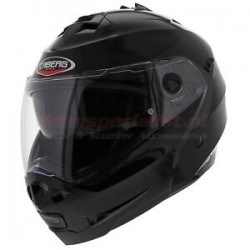 CABERG DUKE II SMART BLACK FLIP HELMET