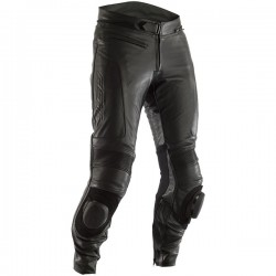 RST GT CE Leather Jeans - Black, Blue & Red