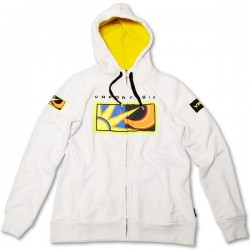 VR46 Ladies Zip Fleece Hoodie