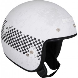 Z1R Checker Helmet WHITE
