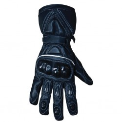 BikeTek Leather Road Gloves